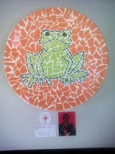 kikkerbord gemaakt door Anna okt. 2013